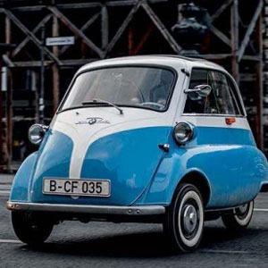 BMW ISETTA The Smallest BMW Cars