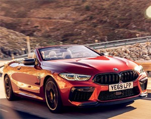 First Drive BMW M8 Convertible
