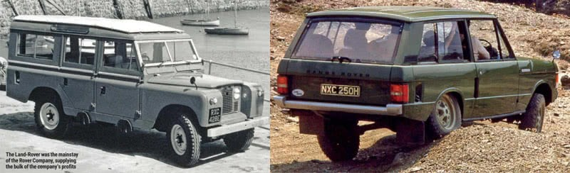Birth of Icon Land Rover and Range Rover Model