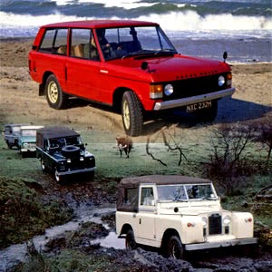 Birth of Icon Land Rover and Range Rover
