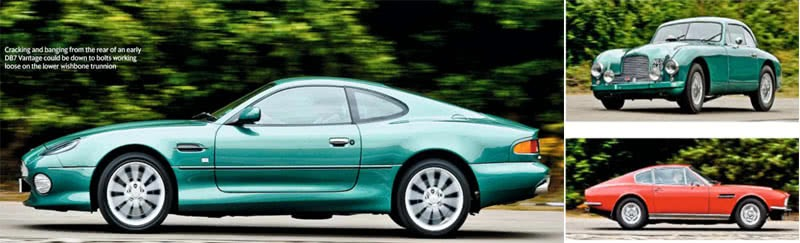 Every Model Aston Martin from DB2 to DBS V8 all 1