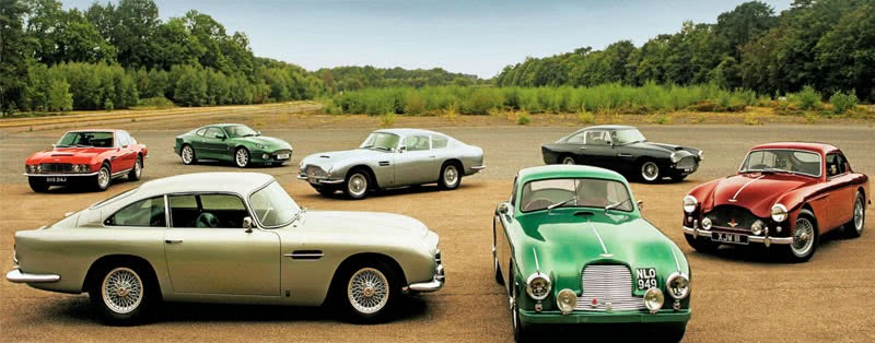 Every Model Aston Martin from DB2 to DBS V8 all