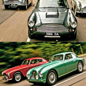 Every Model Aston Martin from DB2 to DBS V8