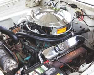 1964 Plymouth Savoy Original Commando 426 Sleeper Engine