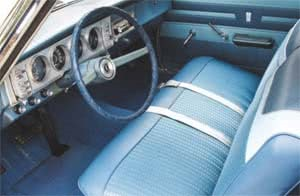 1964 Plymouth Savoy Original Commando 426 Sleeper interior