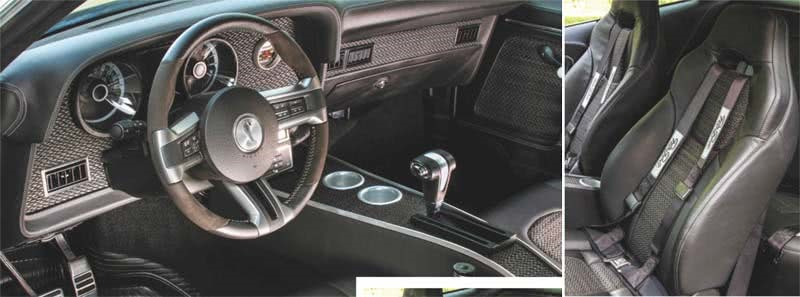 1972 Ford Gran Torino Sport Modification Interior