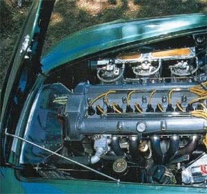 Aston Martin DB4 GT Zagato Engine