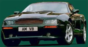 Development of Aston Martin Virages During 30 Years V8 Coupe