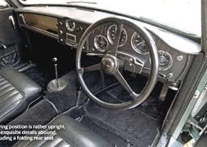 How Aston Martin DB4 Prototype Could Have Looked Interior