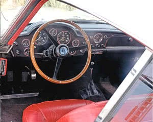 Secret GT-Engined Aston Martin DB4 Interior