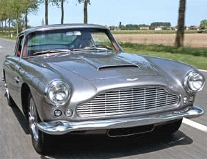 Secret GT-Engined Aston Martin DB4