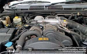 The Story of the Range Rover Linley Engine