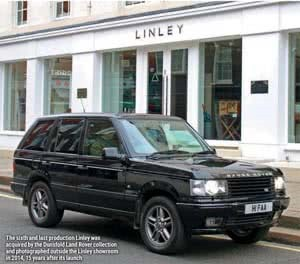 The Story of the Range Rover Linley